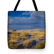White Sands Golden Grass Tote Bag