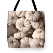 White Squash Tote Bag