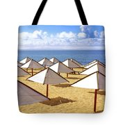 White Sunshades Tote Bag