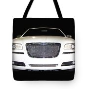 White  Three  Hundred  Limited  In  Black  Tote Bag