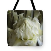 White Torch Ginger Tote Bag