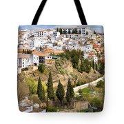 White Town Of Ronda Tote Bag