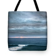 White Track Tote Bag