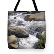 White Water Composition Tote Bag