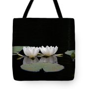 White Water-lily 6 Tote Bag