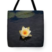 White Water-lily Tote Bag