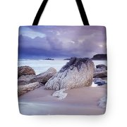 Whitepark Bay, Co Antrim, Ireland Rocks Tote Bag