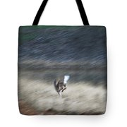 Whitetail Abstract Tote Bag