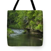 Whitewater River Spring 5 B Tote Bag