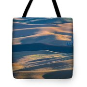Whitman County Grain Silo Tote Bag by Sandra Bronstein