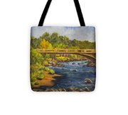 Whitney Crossing Tote Bag