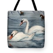 Who Is Minding The Kids Tote Bag by Mohamed Hirji