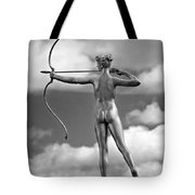 Who Needs Cupid 2 Monochrome Tote Bag