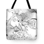 Why Not Flowers Tote Bag