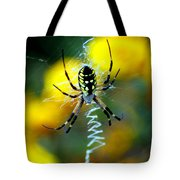 Wicked Spider Paint Tote Bag