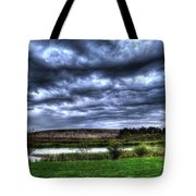 Wicked Wave Clouds Tote Bag