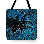 Wicked Widow - Blue Tote Bag