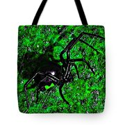 Wicked Widow - Green Tote Bag