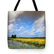 Wide Country Tote Bag