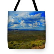 Wide Open Wyoming Sky Tote Bag