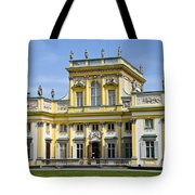 Wilanow Palace And Museum - Poland Tote Bag
