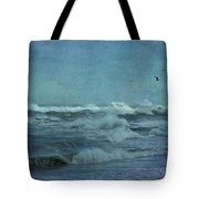 Wild Blue - High Surf - Outer Banks Tote Bag