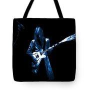 Wild Blue Guitar Tote Bag