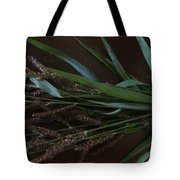 Wild Brown Grass Tote Bag