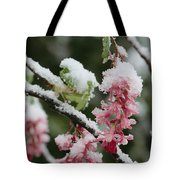 Wild Currant Blossoms Ribes Sanguineum Tote Bag