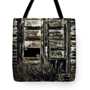 Wild Doors Tote Bag by Empty Wall