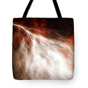 Wild Lightning  Tote Bag