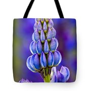 Wild Lupins Tote Bag
