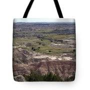 Wild Mountain Goat On Top Of The Badlands Tote Bag