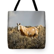 Wild Oregon Horse Tote Bag