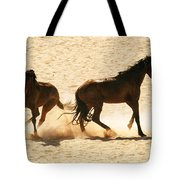 Wild Stallion Clash Tote Bag