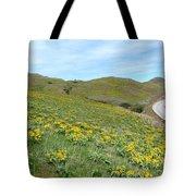 Wild Sunflowers 2 Tote Bag