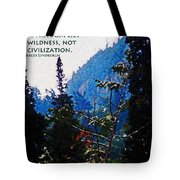 Wilderness Freedom Tote Bag