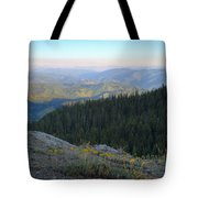 Wilderness View Tote Bag