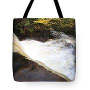 Wilderness Waterfall Autumn Stream Tote Bag