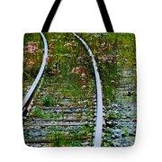 Wildflower Railroad Tote Bag