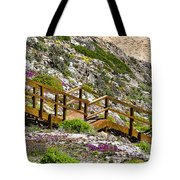 Wildflower Steps Tote Bag