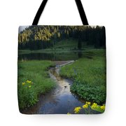 Wildflower Stream Tote Bag