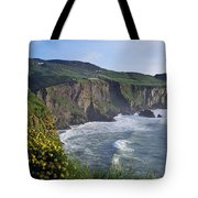 Wildflowers At The Coast, County Tote Bag