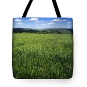Wildflowers On A Landscape, Connemara Tote Bag