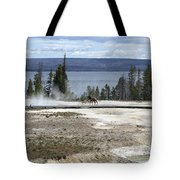 Wildlife In Yellowstone Tote Bag