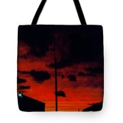 Wildwood Sunset Tote Bag
