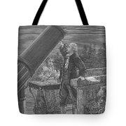 William And Caroline Herschel, German Tote Bag
