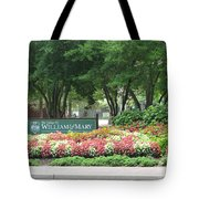 William And Mary. Williamsburg. Virginia. Tote Bag