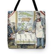 William Mckinley Cartoon Tote Bag