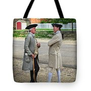 Williamsburg Colonists Tote Bag